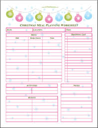 christmas in july christmas planning printables