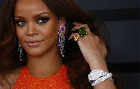 rihanna earrings rihanna is the new of chopard s limited edition design