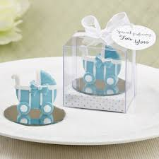 Baby Favors by Baby Carriage Stroller Design Favor With Mirror Base