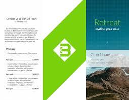 free brochures template business brochure template vector free