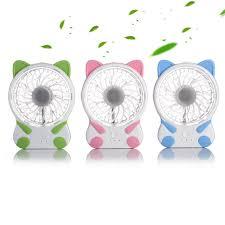 mini ventilateur de bureau mini ventilateur de bureau forme rechargeable fans