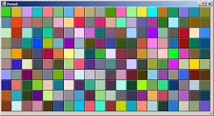color pattern generator random color generator codeproject