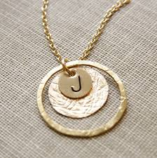 gold necklace personalized images Gold initial necklace mom jewelry monogram necklace jpg