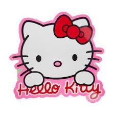jual auto kitty besar pink stiker mobil harga