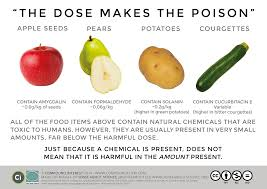 natural u0026 man made chemicals dose makes the poison chemistry