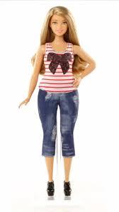 barbie fashionistas 37 everyday chic doll u0026 fashions curvy