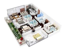 Efficient Floor Plans by 3 Bedroom Apartment U0026 House Plans Design Architecture And Art
