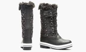 womens winter boots size 11 sociology s quilted cold weather boot size 11 groupon