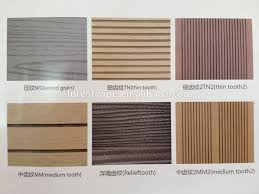 china top composite wood products outdoor waterproof pvc laminate