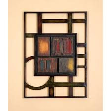 Abstract Home Decor Geometric Modern Metal Abstract Wall Art 12732391 Overstock
