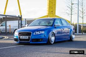 audi slammed julian loose u0027s supercharged audi rs4 fitted state