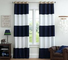 White And Blue Striped Curtains Navy Blue And White Striped Blackout Curtains Navy Striped