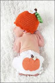 Infant Halloween Costumes Pumpkin Adorable Fall Baby Pumpkin Hat Bloomer