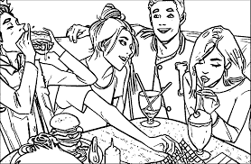 archie collectors edition coloring page wecoloringpage