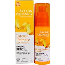 avalon organics intense defense with vitamin c serum 1