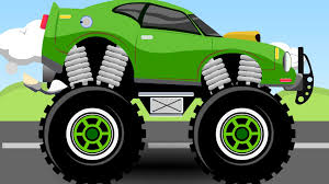 youtube monster trucks racing green monster truck 5 monster trucks for kids youtube