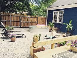 adding a nashville backyard oasis with a stock tank pool