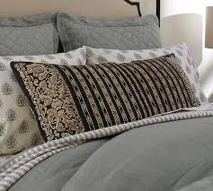 Pottery Barn Lumbar Pillow Covers Nolan Print Lumbar Pillow Cover Pottery Barn Interiors