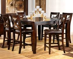 furniture lovely san diego pub height dining room sets style