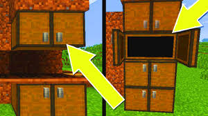 minecraft console edition how to make cabinets cupboards ps3