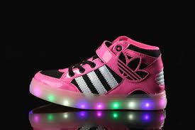 Kids Light Up Shoes Adidas Light Up Shoes For Kids Multicolored Led Lighting Jpg