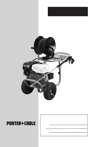 porter cable pressure washer pch3200 user guide manualsonline com