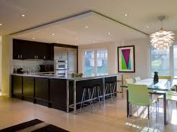 contemporary track lighting kitchen home decorating interior