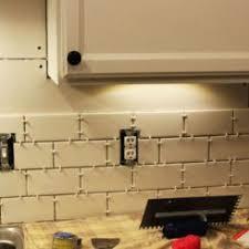 How To Install Subway Tile Kitchen Backsplash by How To Remove A Kitchen Tile Backsplash