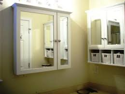 Bathroom Stylish Recessed Cabinet Tags Medicine Cabinets With - Brilliant bathroom vanity light with outlet residence