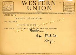happy birthday telegrams western union telegrams ruth ruth central ruth