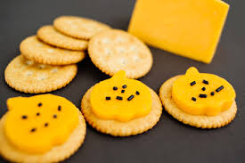 healthy halloween snack ideas cheese and crackers