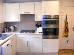 Ideas For Kitchen Cabinet Doors Retro Kitchen Replacing Ideas With Matte White Kitchen Cabinet