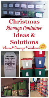 Storage Containers For Artificial Christmas Trees Christmas Storage Containers Festive Way To Hold Your Holiday