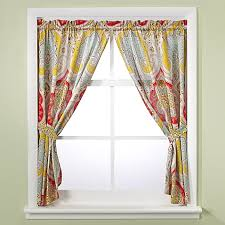 Echo Design Curtains Echo Design Jaipur Bath Window Curtain Panel Pair Bed Bath Beyond