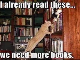 Books Meme - why we started buck books