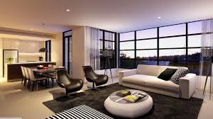 modern ultra small living room all white wall paint fancy black