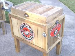 georgia bulldogs cooler local pickup only