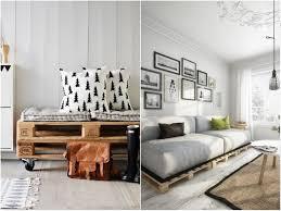 canap en palette en bois idee deco palette 20 inspi pour réinventer intérieur