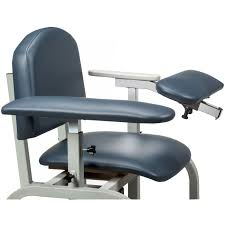 Office Chair Top View Clinton 66000 Lab X Series Extra Wide Blood Drawing Chair With