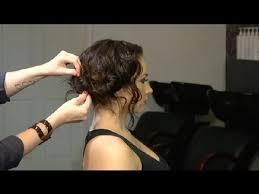 hair ideas when wearing a strapless dress for curly hair hair