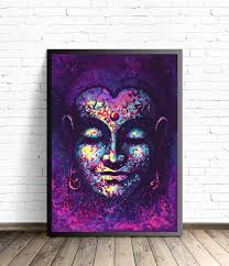 Home Decor Buddha by Buddha Poster Meditation Art Yoga Home Decor Buddha Wall Art