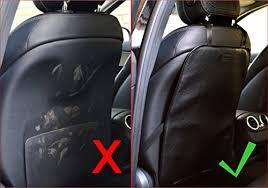 protection si e arri e voiture cuir lot de 2 organisateur de voiture de siège arrière et