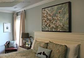 Master Bedroom Decor Diy Diy Headboard Master Bedroom Update The Turquoise Home