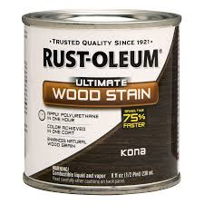 shop rust oleum kona interior stain actual net contents 8 fl oz