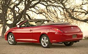 toyota camry solara review and photos