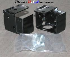 Mini Blind Brackets Mini Blind Repair Parts Components And Mounting Hardware Blinds