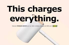Donate Ikea Furniture Ikea Launches New Apple Inspired Ad Campaign For Qi Charging