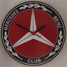 mercedes benz club wall clock mercedes benz club shop