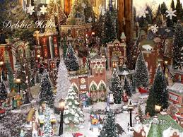 a section of my own debbie holt department 56 in the