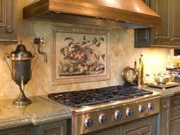 Kitchen Backsplash Tile Murals Kitchen Tile Murals Kitchen Backsplash Ideas With Oak Cabinets